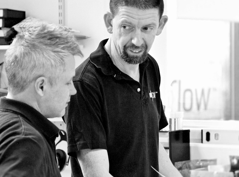 M-Flow Technical Director Alan Parker